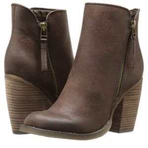 SBICCA | ANKLE BOOTIE | SIZE 7.5 | BROWN | NWOT